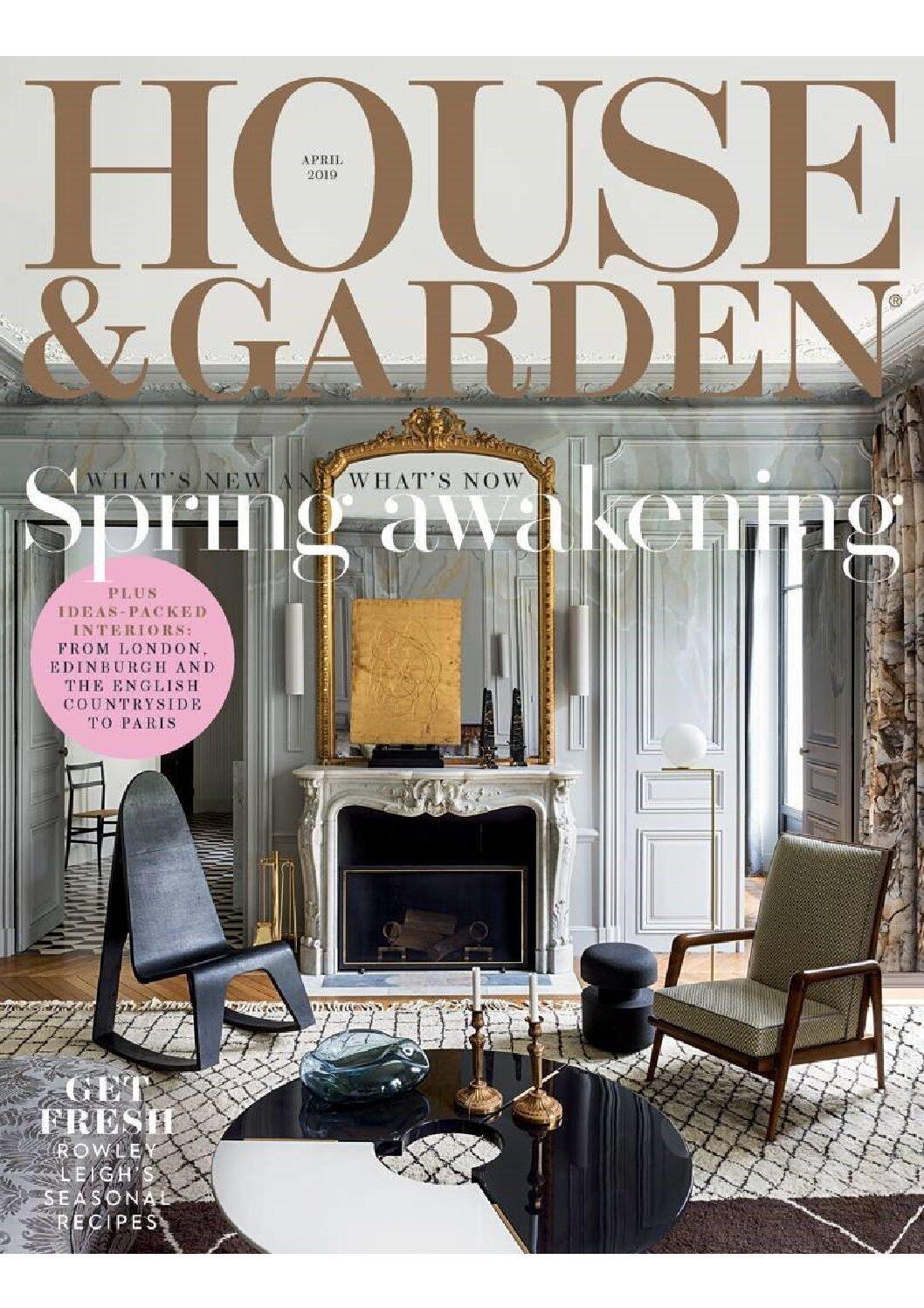 House & Garden, April 2019